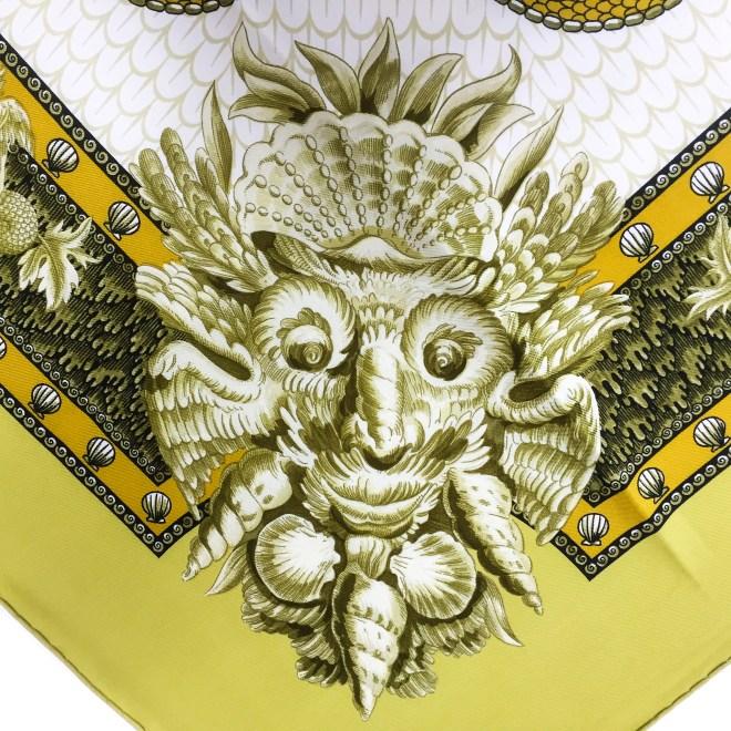 Hermes Silk Scarf Grotte de Versailles-14