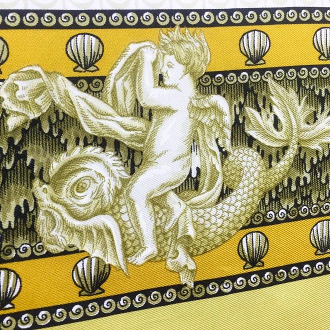 Hermes Silk Scarf Grotte de Versailles-9