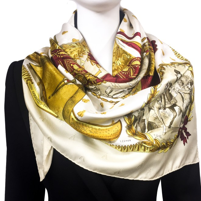 Hermes Silk Scarf Napoleon Rare Colorway.jpg