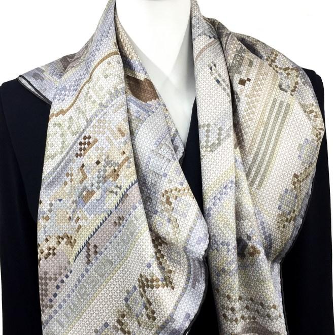 Hermes Silk Scarf Chevaux de France NIB-2