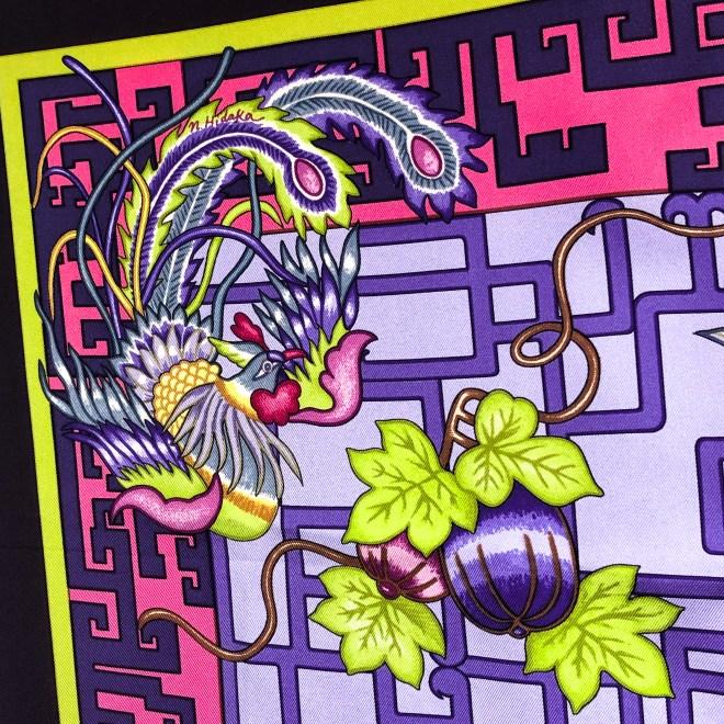 Turandot Hermes Silk Scarf GRAIL Lilac-4.jpg