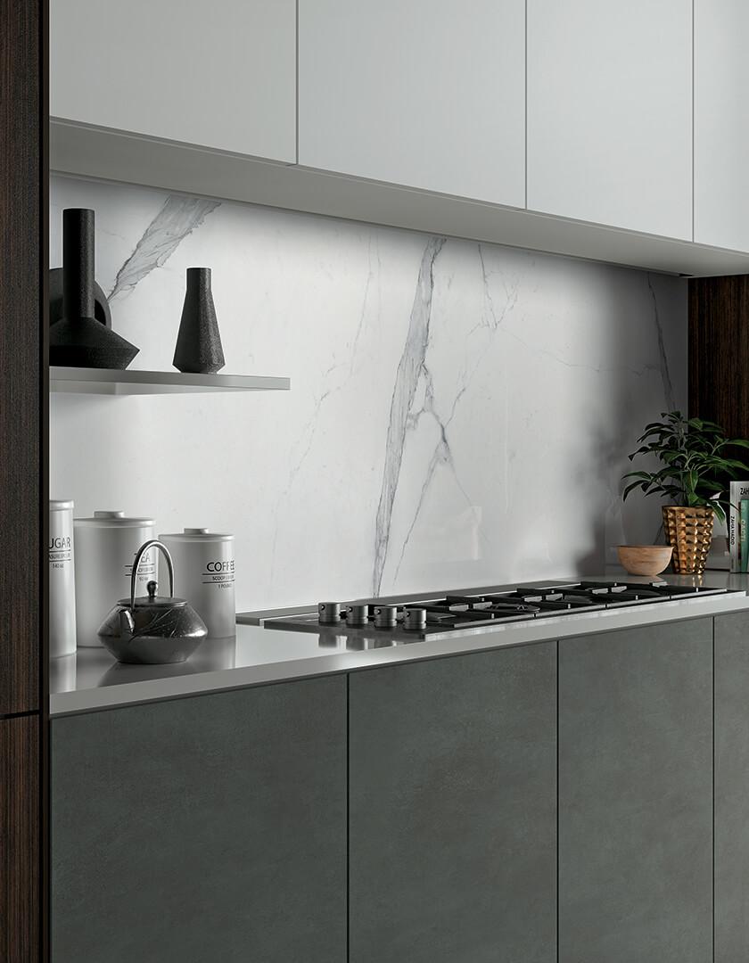 marbre blanc carrelage sol et mur 2