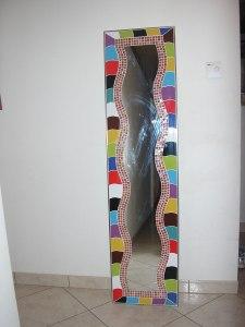 Carrelage décoratif avec mosaique