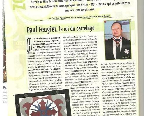 Paul Feugier, roi du carrelage