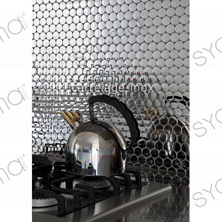 plaque carrelage credence cuisine inox miroir mosaique sora carrelage inox fr