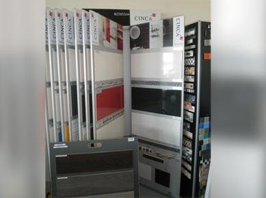 Exposition produits magasin - Carrelage Laizé