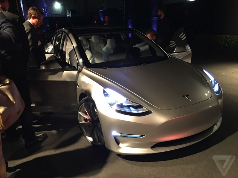 2017 Tesla Model 3 Tesla Model 3 Announced Release Set For 2017 Price Starts At
