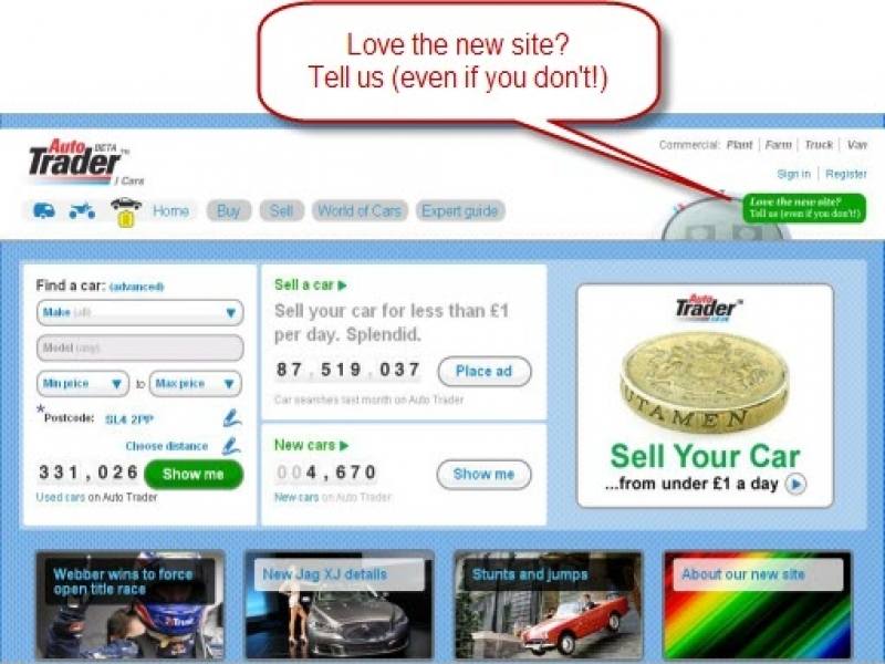 Autotrader Uk Website Redesign Pitfalls Ii Loss In Revenue Proimpact7