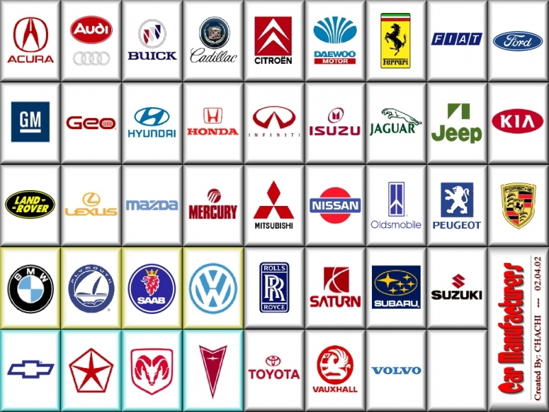 Car Manufacturers Logo Car Manufacturer Luxury Cars