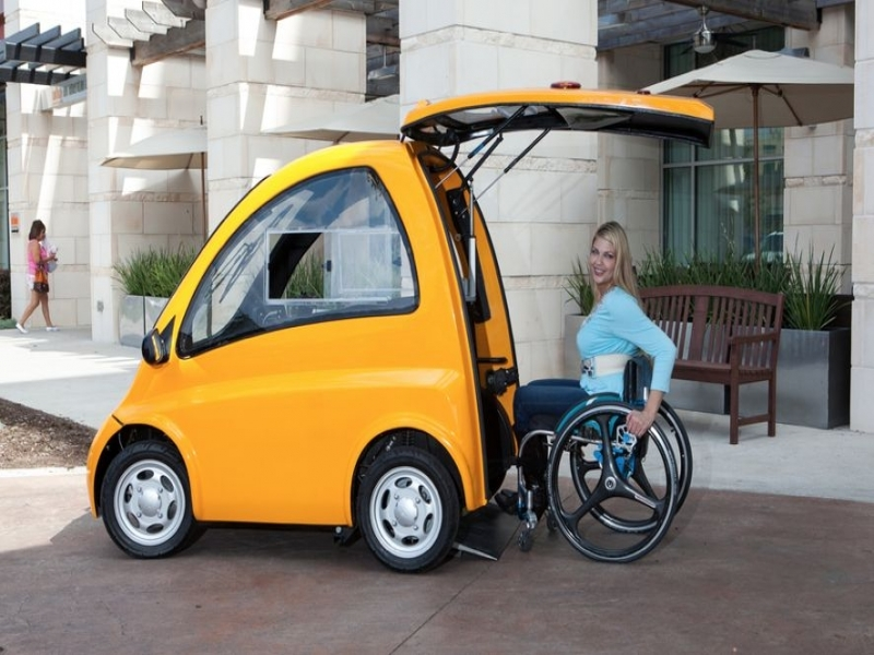 Cars In The News Woman Invents Amazing Car That Wheelchair Users Can Just Drive