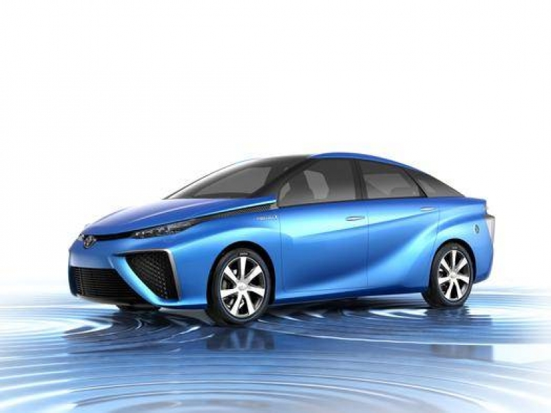 Latest New Car Models Toyota To Unveil Hydrogen Fuel Cell Vehicle Concept Cars Nbc News