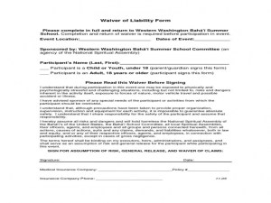 Release Of Liability Form Car Accident Car Release Of Liability Form Car Accident Release Of Liability