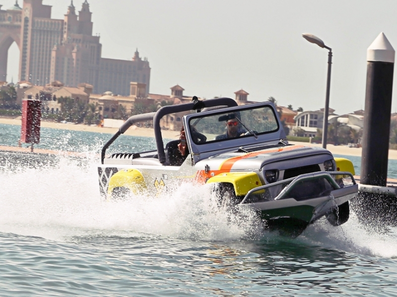 The Most Unique Cars In The World Auto Trader Uae News Is It A Car Is It A Boat Video Amp Pics