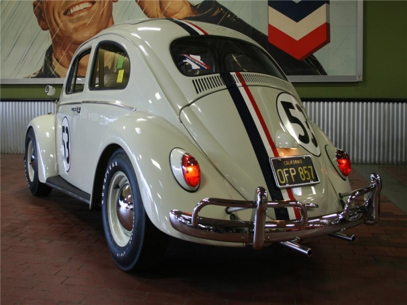 Vw Car Classic In 1977 Original Herbie Love Bug Is Heading To Auction At No Reserve
