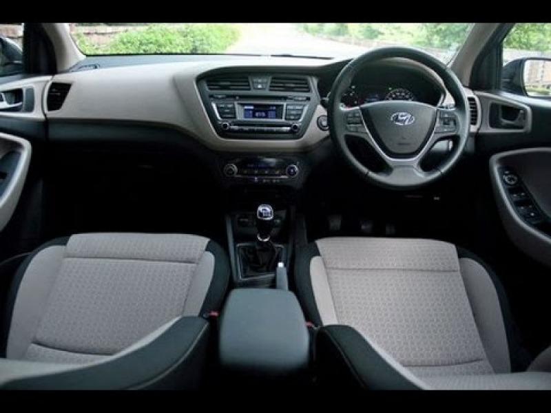 Hyundai I20 Active Interior Hyundai I20 Active Interior Top End White Colour Youtube