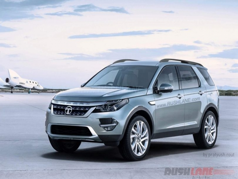 Upcoming Tata Safari Photo	 Next Gen Tata Safari Q501 Rendered Using Land Rover Cues Motoroids
