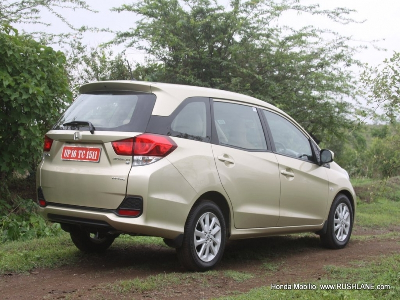 Best Honda Mobilio 7 Seater Price Honda Mobilio Review Stylish 7 Seater Petrol And Deisel Mpv