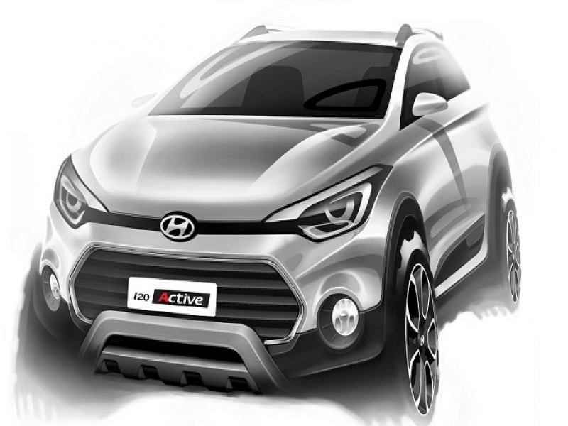 Latest Hyundai I20 Active White Price Hyundai I20 Active Crossover Launching On March 17 2015 Ndtv