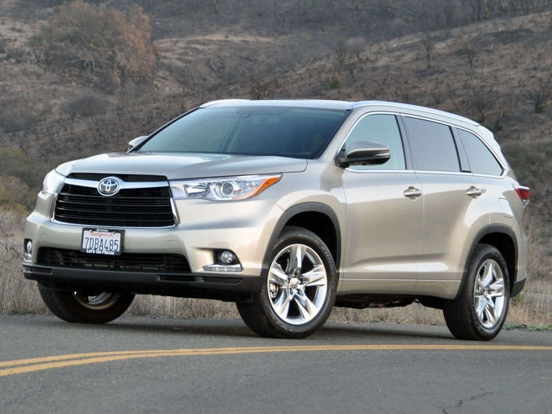Toyota SUVs And Crossovers Price 2014 Toyota Highlander Crossover Suv Road Test And Review