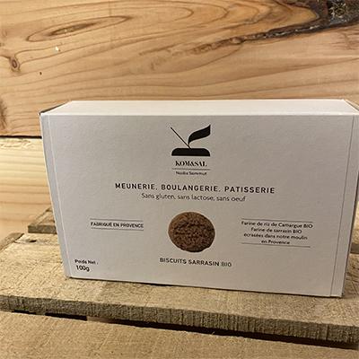 Biscuits sarrasin