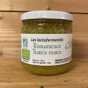Romanesco baies roses 250g