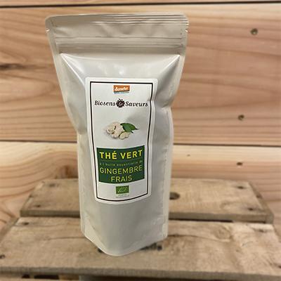 Thé vert gingembre bio
