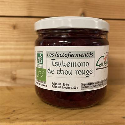 Tsukemono de chou rouge 250 g