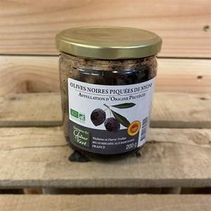 Olives piquées AOP Nyons 250g