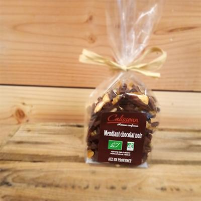 Mendiants chocolat noir 150g
