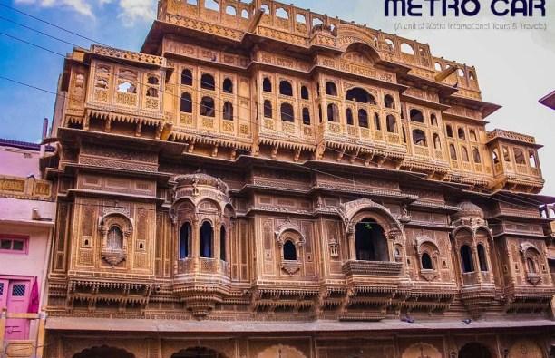 Nathmal Ki Haveli Palaces to visit in Jaisalmer