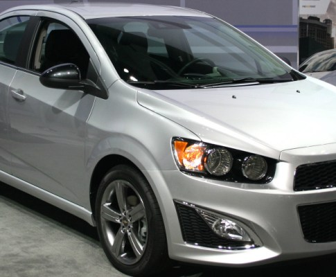 Chevrolet Sonic Named Top Safety Pick For 2015 By IIHS