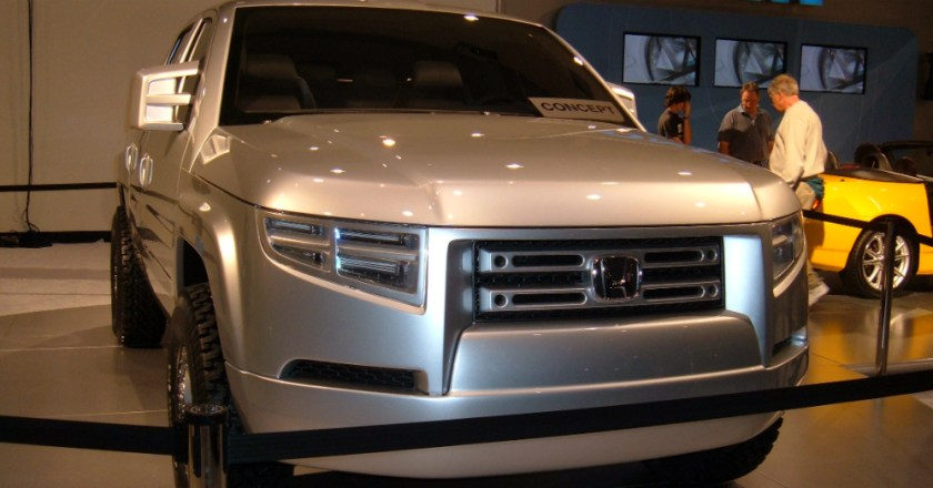 2017 Will bring us a New Honda Ridgeline