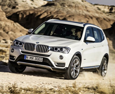 2017 BMW X3: Sport and Activity