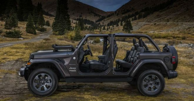 Another New Look at the Upcoming Jeep Wrangler