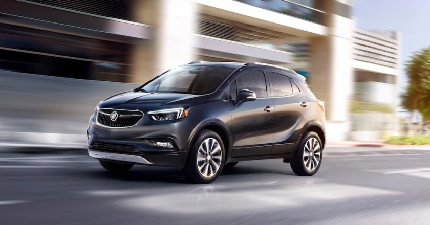 2018 Buick Encore: An Upscale Compact Crossover SUV