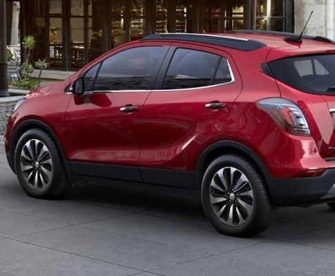Less Camo Gives Us a Better Look at the Next Buick Encore