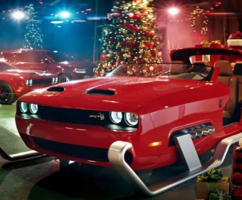 Santa Claus Sleigh Fun From Dodge