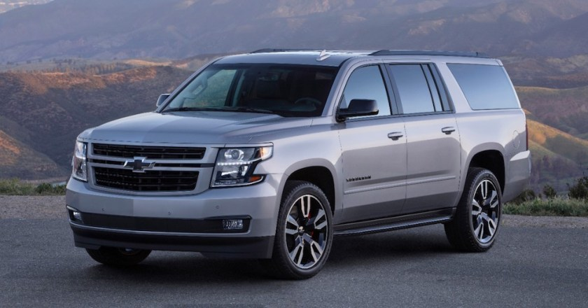More Power in a Big Chevy SUV