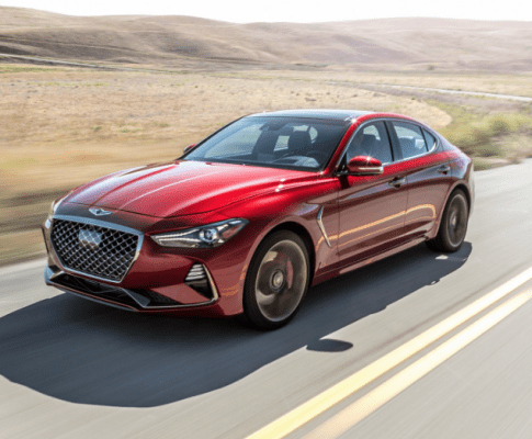 The Genesis G70 Starts Raking in the Awards