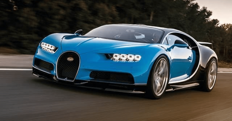 The 5 Top Fastest Cars in the World