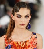 Labios sombreados por Oscar de la Renta en la New York Fashion Week