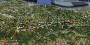 Galarleiz 2009 en Google earth