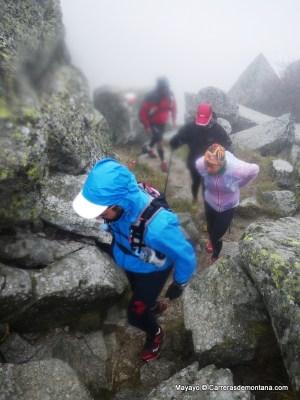 Entrenamiento trail invernal: Experiencia acumulada.