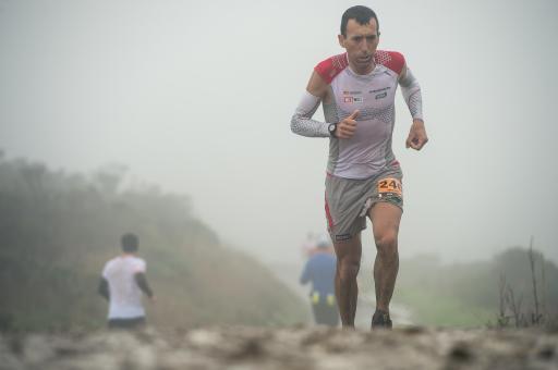 Miguel Heras en la TNF50. Foto: Damien Rosso