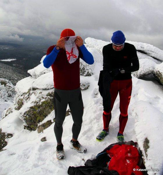 Hoko Esport: Pruebas invernales en La Peñota por Pablo Criado y Mayayo