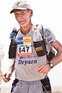 Polipropileno Dryarn: Marco Olmo en Maraton des Sables 2012.