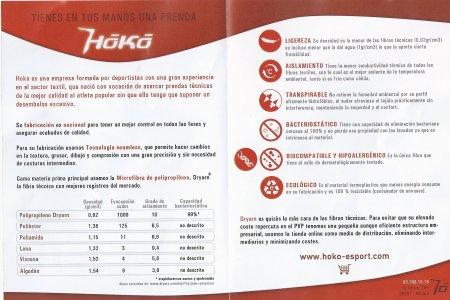Hoko Esport: Ventajas comparativas polipropileno dryarn vs otras fibras.