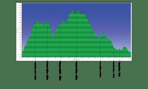 TransGranCanaria 2013 42k. Perfil de carrera