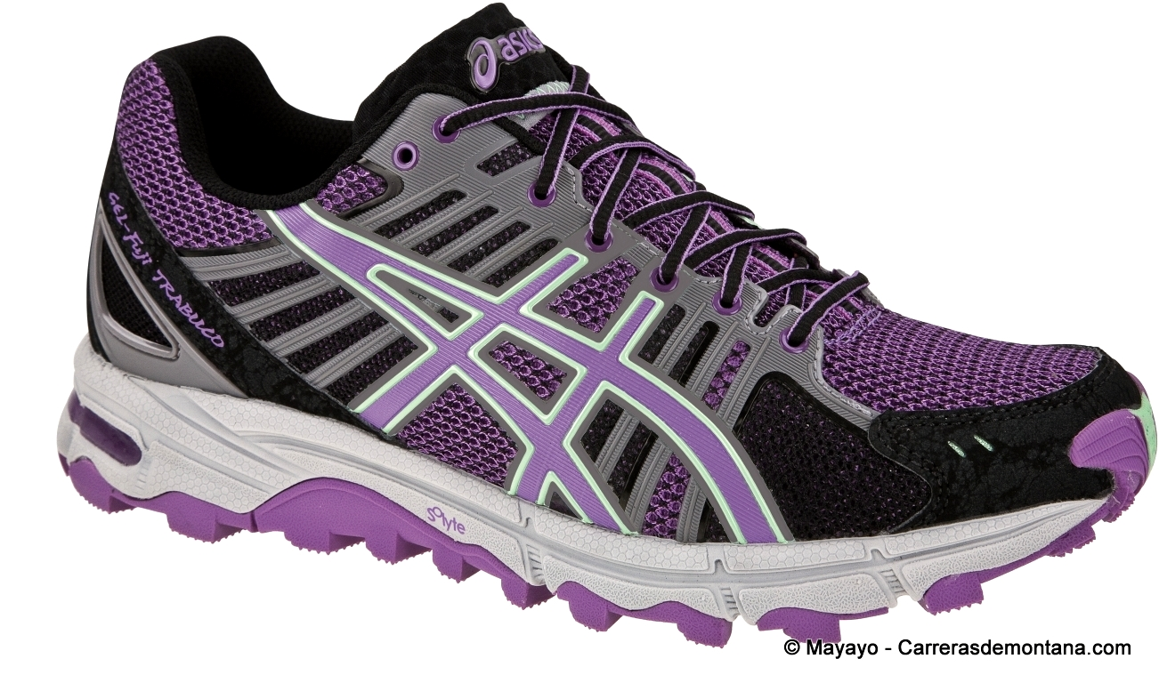 trail asics mujer