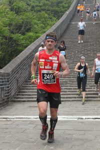 Trail Running Grand Slam Marathon: Luis Alonso Marcos en el maraton de la muralla china